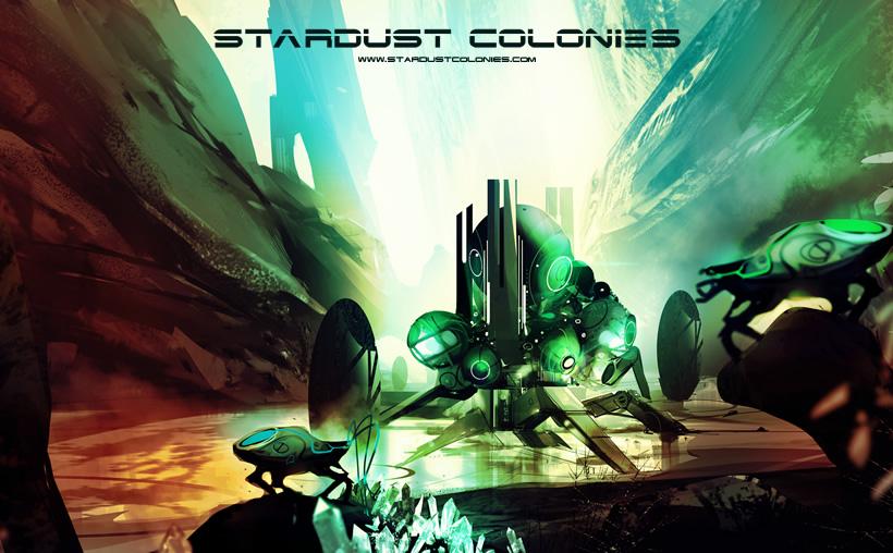 Stardust Colonies - Crystal Seekers wallpaper
