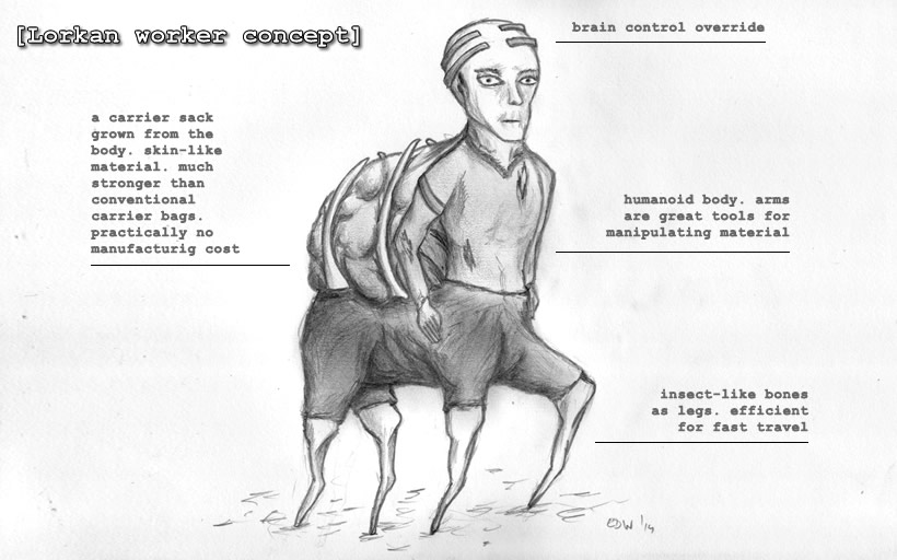 Lorkan worker concept